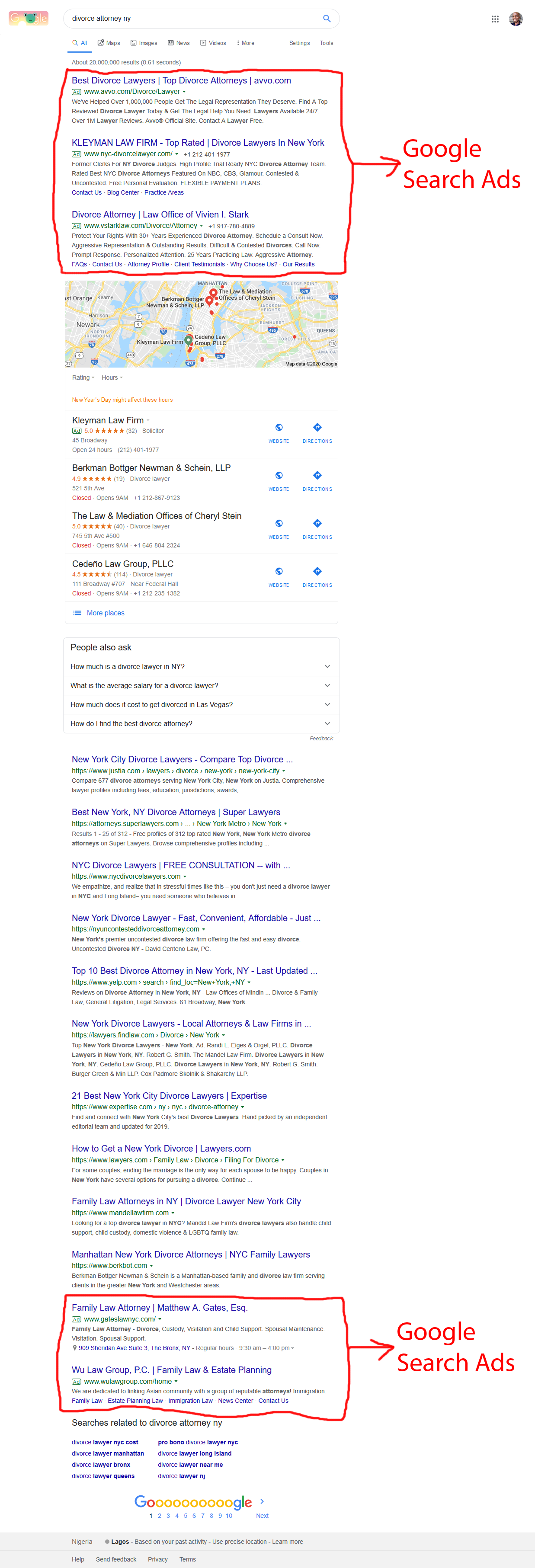 Google Ads for law firms